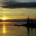 Moosehead Lake Sunrise by John Burk