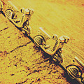 Moped Parking Lot by Jorgo Photography - Wall Art Gallery