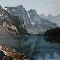 Moraine Lake by Betty-Anne McDonald
