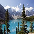 Moraine Lake In Banff National Park by Bryan Mullennix