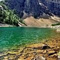 Moraine Lake by Kim Grosz