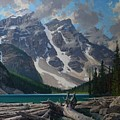 Moraine Lake by Lanny Grant