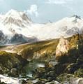 Moran: Teton Range, 1897 by Granger
