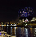 More Fireworks At Newcastle Quayside On New Year's Eve by Iordanis Pallikaras