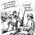 More Metal Ww2 Cartoon by War Is Hell Store