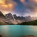 More Rain At Moraine Lake by William Freebilly photography