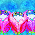More Rose City Rain Frogs by Nick Gustafson