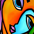 More Than Enough - Abstract Pop Art By Fidostudio by Tom Fedro - Fidostudio