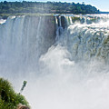 More Waterfalls At Devil's Throat In Iguazu Falls National Park-  by Ruth Hager