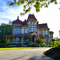 Morey Mansion - Small Town America by Glenn McCarthy