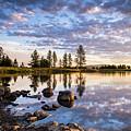 Morgan Lake Sunrise by Pamela Schultz