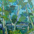 Moria River At Belleville by Saga Sabin
