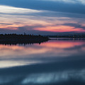 Morii Lake At Sunset by Eduard Stoica
