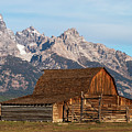 Mormon Barn by Bob Phillips