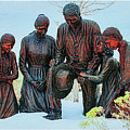Mormon Handcart Family Monument by Margie Wildblood