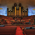 Mormon Meeting Hall by Buck Buchanan