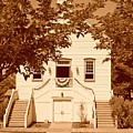 Mormon Pine Valley Meeting House by Dennis Hammer