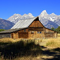Mormon Row Barn 2 by Marty Koch