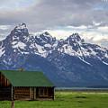 Mormon Row Barn by Adriana Wolff