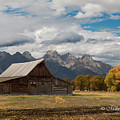 Mormon Row Barn by Mike Fitzgerald