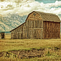 Mormon Row Barn No 3 by Sandra Selle Rodriguez
