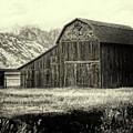 Mormon Row Barn by Sandra Selle Rodriguez