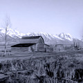 Mormon Row by Jeffrey Hamilton