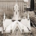 Mormon Temple by Marilyn Hunt