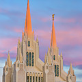 Mormon Temple by Peter Tellone