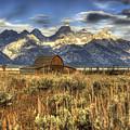 Mormons Row Barn by Dennis Hammer