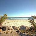 Morning At Qgunquit Beach. by Robert McCulloch