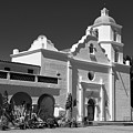 Morning At San Luis Rey Mission by Sandra Bronstein
