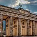 Morning At The Brandenburg Gate  by Endre Balogh