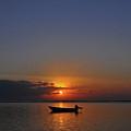 Morning Boat by Wayan Suantara