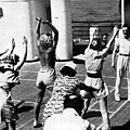 Morning Calisthenics On The Rms Queen Mary 1938 by Sad Hill - Bizarre Los Angeles Archive