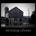 Morning Chores by Tim Nyberg