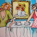 Morning Coffee by Yvonne Feavearyear