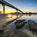 Morning Colors In Port St. Joe by Twenty Two North Photography