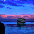 Morning Ferry by Rick Bragan
