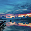 Morning Glory At Glacier National Park by Lon Dittrick