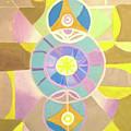 Morning Glory Geometrica by Suzanne Cerny