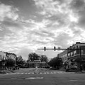 Morning In Murphy North Carolina In Black And White by Greg Mimbs