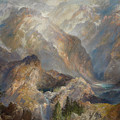 Morning In The Sierras by Thomas Moran