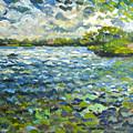Morning Light At Lake Ida by Ralph Papa