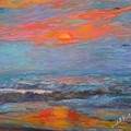 Pawleys Island Morning Light Stage One by Kendall Kessler