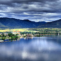Morning Light On Okanagan Lake by Tara Turner