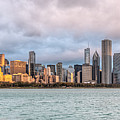 Morning Light On The Chicago Skyline by James Udall