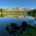 Morning Meditation - Lake Irwin by Dusty Demerson