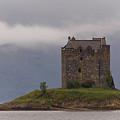 Morning Mist Castle Stalker by John McKinlay