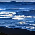 Morning Mist In The Smokies by Rick Berk